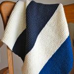 100% Merino Wool Chunky Baby Blanket