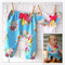Perfect Floral Baby Girl Harem Pants and Singlet Set