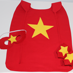 Boys Red & Yellow Super Hero Set with Star