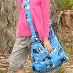 Orca Whale swim bag for kids