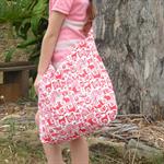 Woodland animal print childrens bag