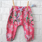 Perfect Pink Floral Baby Girl Harem Pants