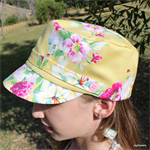 Yellow Circa Girl's Cap Size 53cm Ready to post!