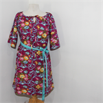 Ladies Boho Peasant Dress