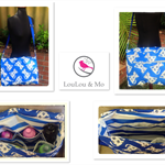 NAPPY BAG - BABY BAG- DIAPER BAG - WIPEABLE
