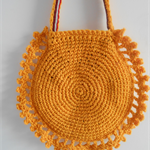 OLD SCHOOL CROCHET SHOULDER BAG