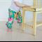 Modern Harem Play Pants Sizes 0000-1 Green Floral Jennifer Paganelli Lucky Girl