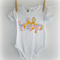 Easter 'HOP' onesie with bow - Baby, newborn, girl, gilter, bunny, rabbit