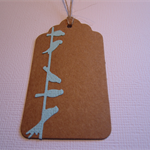 Bird On A Wire Gift Tag - Set of 10