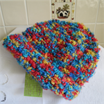Hand Knitted Child's Beanie - Multi Colours
