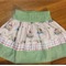 Little Girl Size 1 Classic Winnie the Pooh Skirt or made to measure size 2 3 4 5