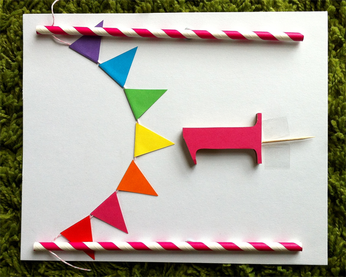how to make personalised bunting