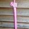 Wooden Piggy hair bow/clip holder