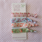 Floral Print Elastic Ponytail Holders - Hair Ties