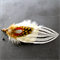 Apache Feather Grooms Buttonhole