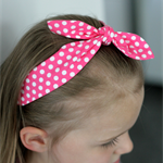 Retro Knot Bow Headband