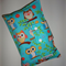 Nappy Wallet - owls on teal