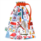 Fully Lined Drawstring Bag. Perfect for Carrying Little Toys. A Unique Gift!