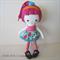 Pink Hair Girl Soft Doll