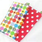Washcloth DUO set of two complimentary cloth