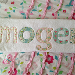 Girls Personalised / Name Towel