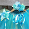 Ocean Breeze deluxe Knee length  tutu, wand and fairy flower crown set.