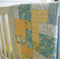 Baby Cot Quilt - Handmade Baby Cot Quilt - Scrappy Patchwork - Baby Bedding