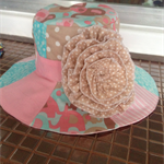 Girls patchwork hat
