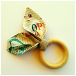 'Open Your Heart' Bunny Teething Ring