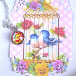 Easter Duck Necklace
