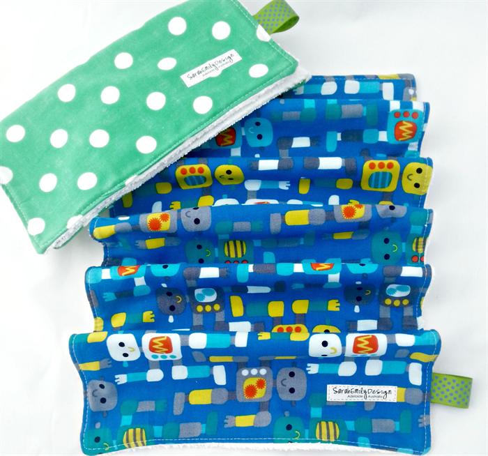 Wash Burp Cloths Before Use: Baby GIFT SET Burp Cloth And Wash Cloth