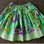 ** FREE SHIPPING - Ready to post ** Size 6 Floral Spotty Twirly Skirt