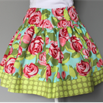** FREE SHIPPING - Ready to post ** Size 5 Floral Spotty Twirly Skirt