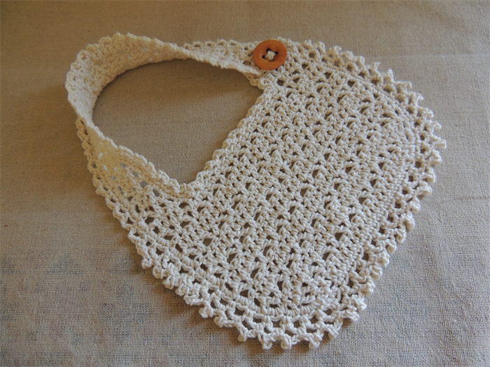 Thread Crochet Baby Bib Pattern Pakbit For