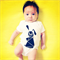 Baby Toddler Onesie/TShirt, Children TShirt- Billy Rabbit