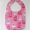 Bib - Buy any 3 get the 4th free / Bird cage pink
