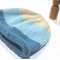 child beanie organic wool - ocean sky sand - boy 4-8 years