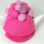 Pom Poms Galore Tea Cosy