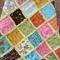 Unisex Rag Quilt/Blanket - Pram Size - Bugs, Beetles, Dragonflys, Butterflys