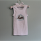 Applique Singlet. Rabbit Print Singlet. Baby Clothes Size 0 Baby Gift