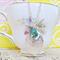 Mr Darcy Locket Charm Necklace Jade Green Jane Austen Key Hope Vintage