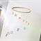 Rainbow Doily Mobile Spiral Baby Homewares Nursery Doilies Pastel Decoration