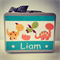 Personalised Baby Gifts -Keepsake Storage Case for Newborn Baby - Baby Dinosaurs