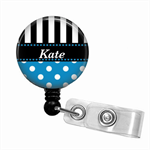 Retractable badge reel - add your name.