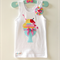 Ice cream Baby Girls Singlet