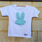 Boy Easter chevron bunny Tee sz 1-5