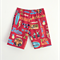 Pipeline Red Vintage Hawaiian Boys Shorts Sizes 0-4