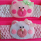 Little Bear face Crochet Headband