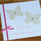 Girls or boys Christening Card - Pink or blue - Congratulations card