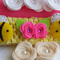 Bumble Bees Crochet Headband